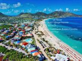 TRES CHIC... fabulous modern beachfront condo at Caribbean Riviera on Orient Bay!