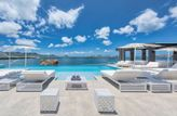 MIRABELLE... Deluxe Villa - Offers the best of both worlds ... gorgeous hillside and waterfront villa... .