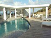 LA MIRELLA... Fabulous  contemporary St Maarten rental villa overlooking Oyster Pond and Dawn beach