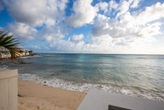 Burgeoux Villa... Comfortable Beach front home, walk to Maho or Simpson Bay beach!