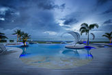 C'EST LA VIE...   WOW!! Spectacular 6 BR beachfront beauty on Plum Bay,Terres Basses