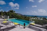 LA SARABANDE...  Romantic private 1 BR with gorgeous views of Orient Bay!