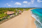 BLUE BEACH VILLA... 3 BR villa on gorgeous white sandy beach!