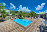 EVE PARADISE... a naturist's dream! Beautifully restored villa, extremely private, walk to Orient Beach!