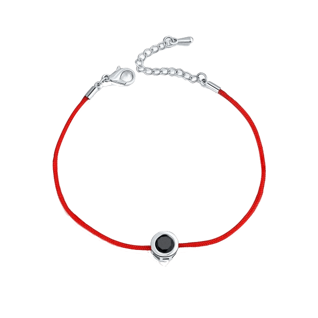 Red String Bracelet (Choose Stone)