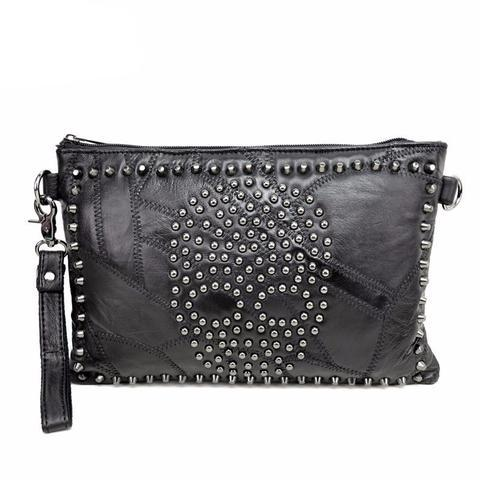 Gemma Leather Clutch