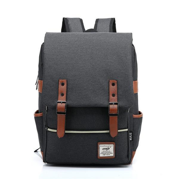 Prep Me Canvas Backpack (Choose Color)