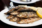 Grilled sardines, Quality  Greek Traditional Food by Sirtaki