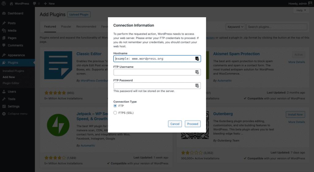 Cara mengatasi WordPress Meminta FTP CREDENTIAL DI LOCALHOST XAMPP