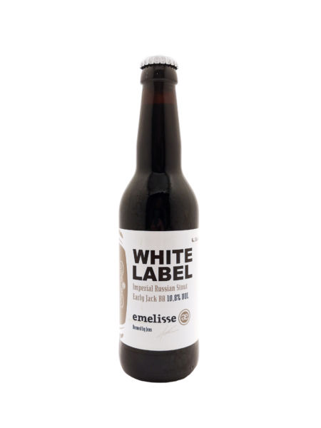 White Label Imperial Russian Stout BA Early Jack 2018 Brouwerij Emelisse