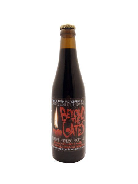 Beyond The Gates BA Martinique Rum White Pony Microbrewery