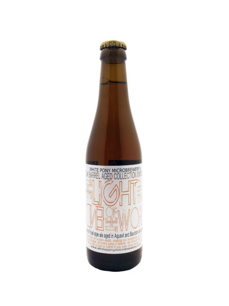 The Light At The End Of The World BA Aquavit and Bourbon White Pony Microbrewery