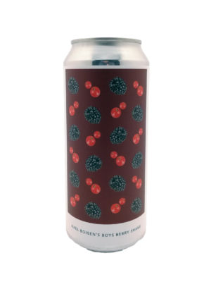 Axel Boisen's Boys Berry Shake Evil Twin Brewing NYC