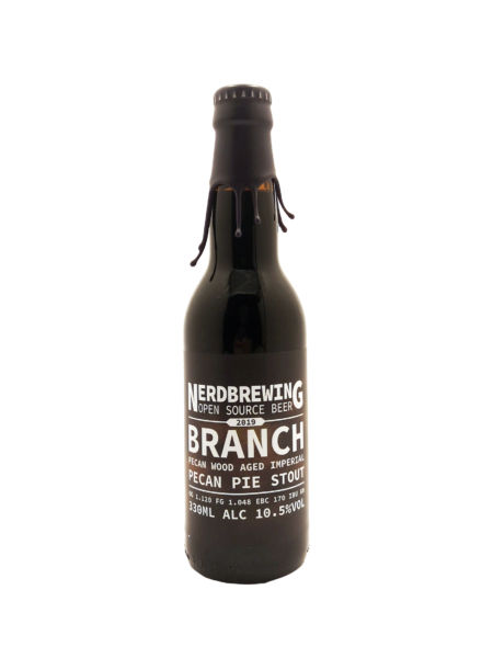 Branch Pecan Wood Aged Imperial Pecan Pie Stout Nerdbrewing