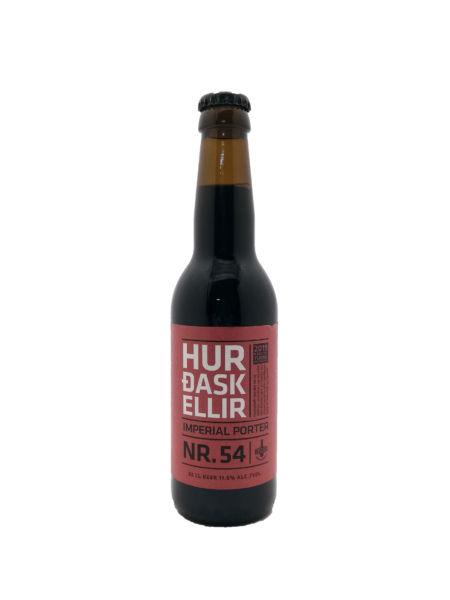 Hurdaskellir No. 54 (rye whiskey barrel aged) Borg Brugghús