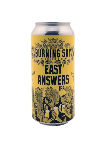 Easy Answers Burning Sky Brewery