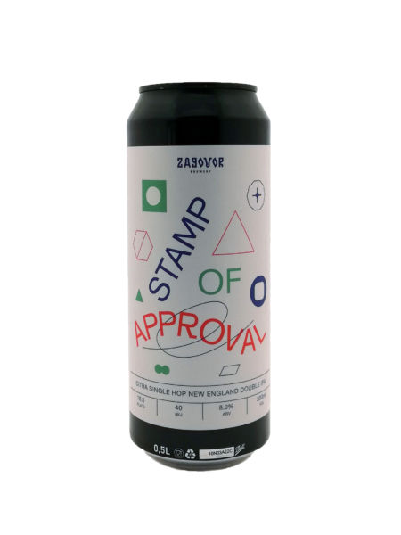 Stamp of Approval Zagovor Brewery