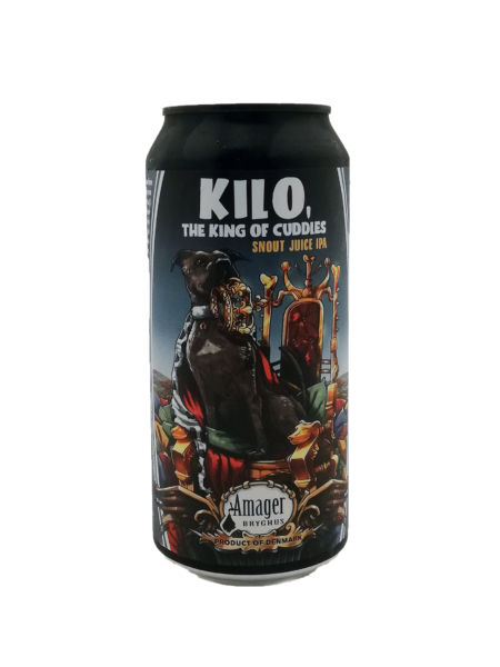 Kilo, the King of Cuddles Amager Bryghus