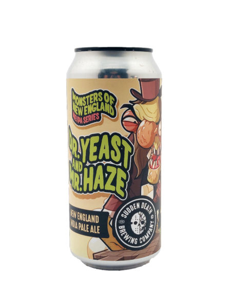 Dr. Yeast And Mr. Haze Sudden Death Brewing Co.