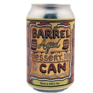Barrel Aged Dessert In A Can - Pecan And Maple Pie Amundsen Brewery