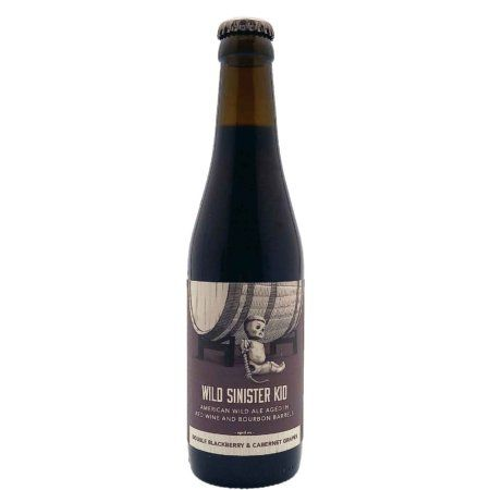 Wild Sinister Kid: Double Blackberry & Cabernet Grapes Trillium Brewing Company