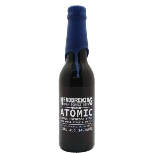Atomic Double Espresso Stout With Maple Syrup & Vanilla Nerdbrewing