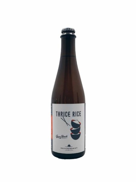 Thrice Rice Wit Green Bench Brewing Co