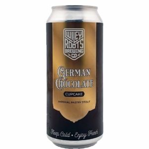 German Chocolate Cupcake Imperial Stout Wiley Roots Brewing Company