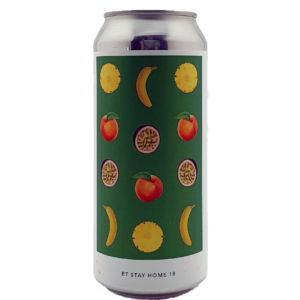 ET STAY HOME 18 - PINEAPPLE, PEACH, PASSIONFRUIT, BANANA Evil Twin Brewing NYC
