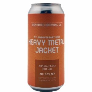 Heavy Metal Jacket Pentrich Brewing Co.