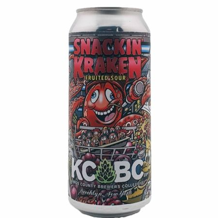 Snackin' Kracken KCBC - Kings County Brewers Collective