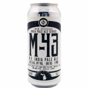 M-43 N.E. India Pale Ale Old Nation Brewing Co.