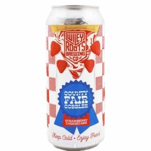 Strawberry Cheesecake County Fair Cobbler (keep cold) Wiley Roots Brewing Company