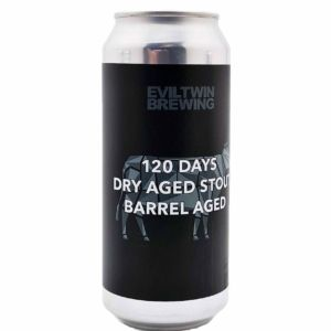 120 Days Dry Aged Stout Barrel Aged Evil Twin Brewing