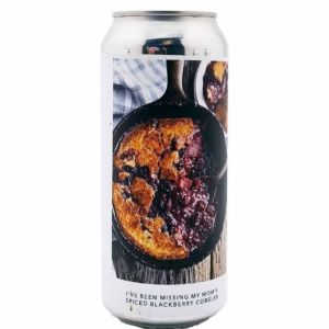 I'VE BEEN MISSING MY MOM'S SPICED BLACKBERRY COBBLER Evil Twin Brewing NYC