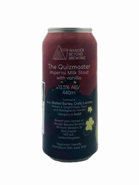 The Quizmaster Wander Beyond Brewing