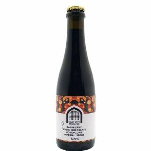 Raspberry White Chocolate Honeycomb Imperial Stout Vault City Brewing