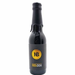 Barrel Series 008 - Rye Whiskey BA Imperial Milk Stout Nerdbrewing