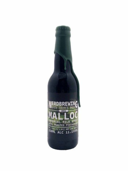 Malloc Imperial Milk Stout With Toasted Pistachios Nerdbrewing