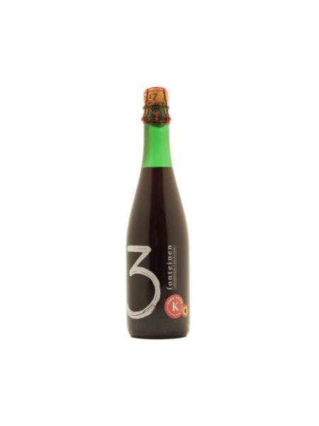 Oude Kriek Sæson 2016/2017 blend #33 375 ml Brouwerij 3 Fonteinen