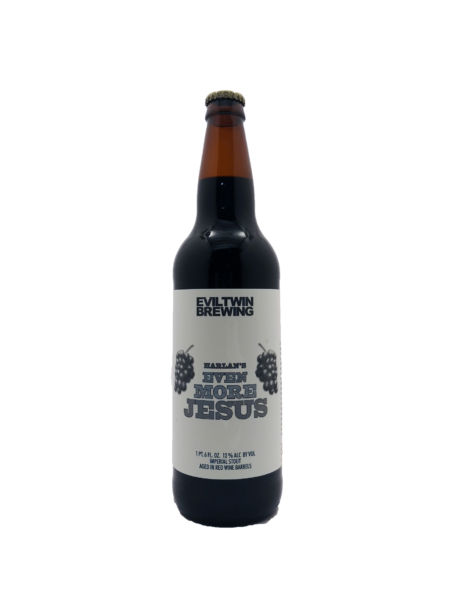 Harlan's Even More Jesus Evil Twin Brewing