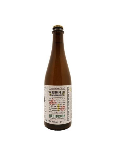 Fruit/Wood/Time: Passionfruit BA Rum Westbrook Brewing Co.