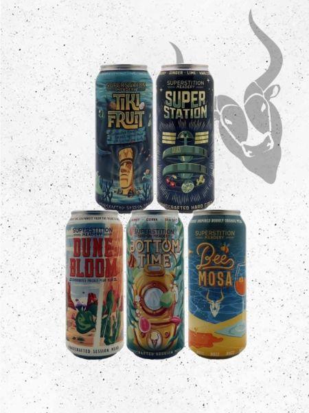 Superstition Meadery sparkling bundle
