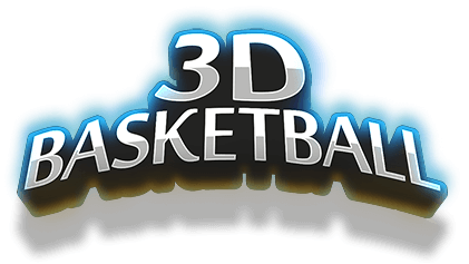3D Basketball logo