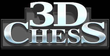 3D Satranç logo