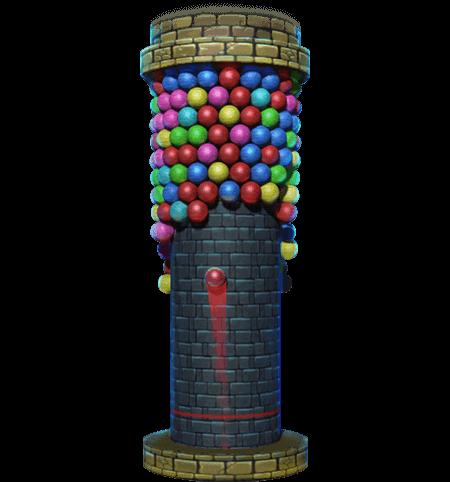 Bubble Tower 3D figure