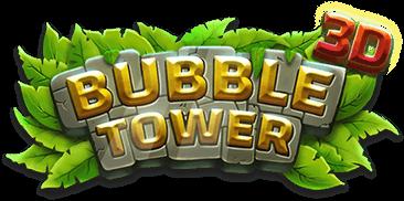 Bubble Tower 3D logo