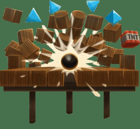 Cannon Balls 3D figure
