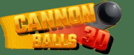 Cannon Balls 3D logo