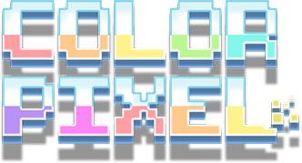 Color Pixel Art Classic logo